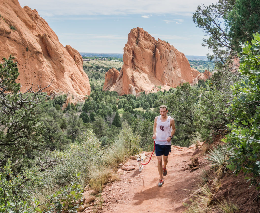 go for a hike - garden of the gods